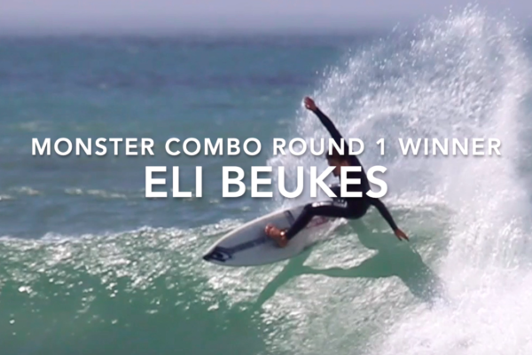 Eli Beukes Wins Monster Combo Round 1