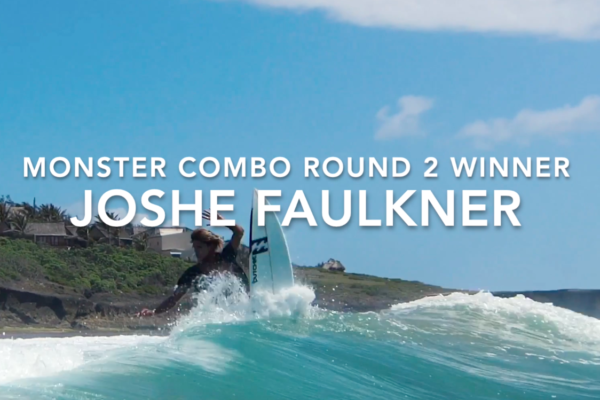 Joshe Faulkner Wins Monster Combo Round 2