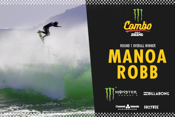 Manoa Robb Takes the Monster Combo Round 1